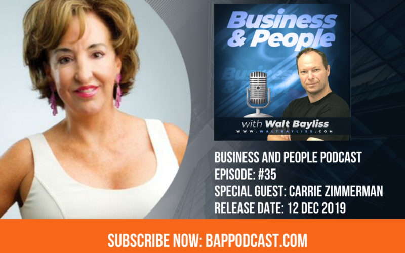 business and people podcast episode 35 carrie zimmerman