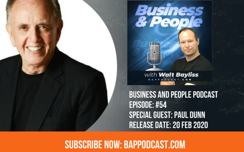 Business and People POdcast Episode 54